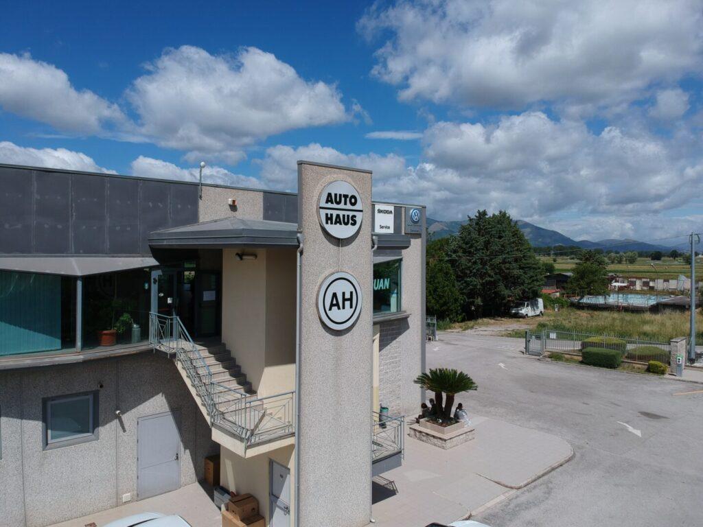 fotovoltaico aziendale autohaus atena lucana salerno