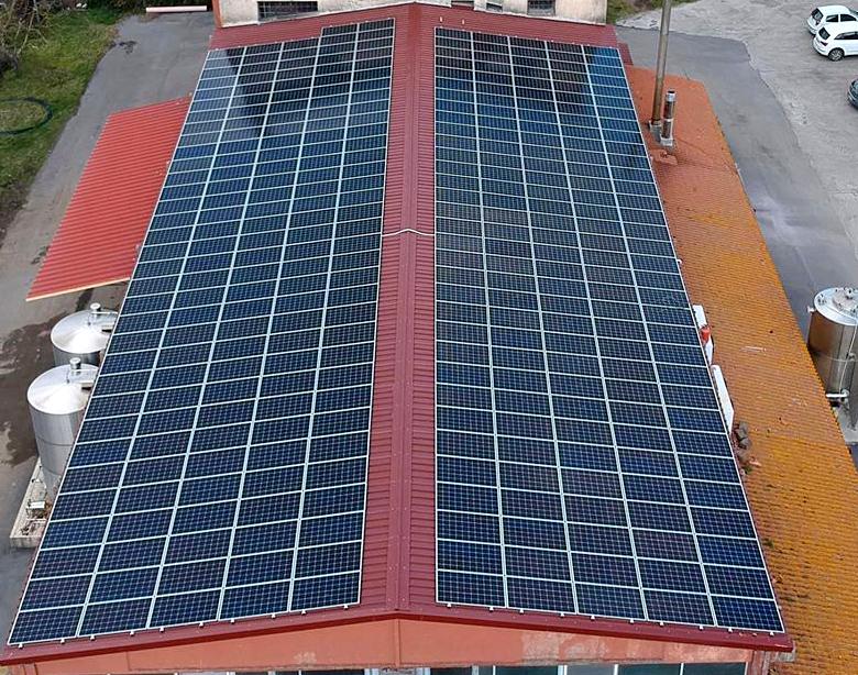 impianto fotovoltaico aziendale Valperino