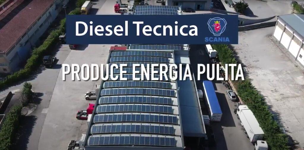 Impianto Fotovoltaico da Diesel Tecnica Spolzino